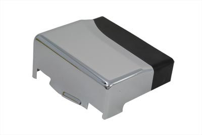 Battery Top and Side Cover Chrome w/ Black Accent FXD 1991-2005