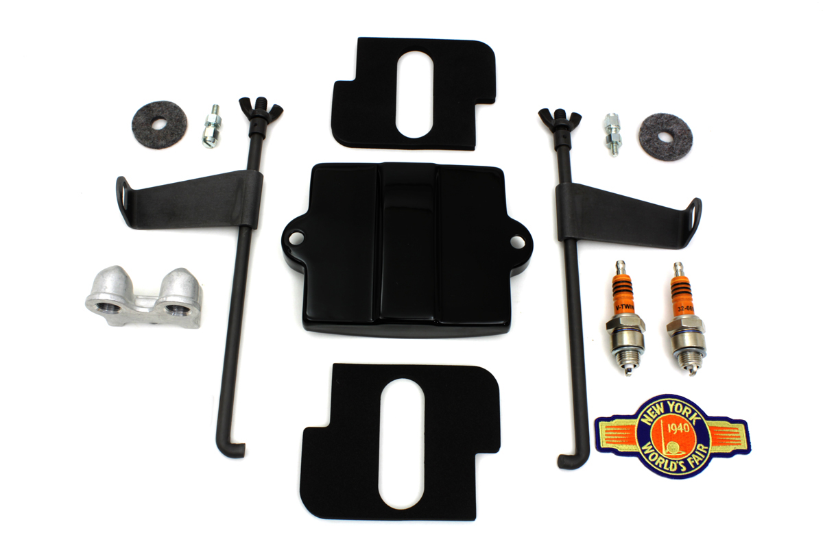 FL 1948-1957 Black Battery Box Top Kit