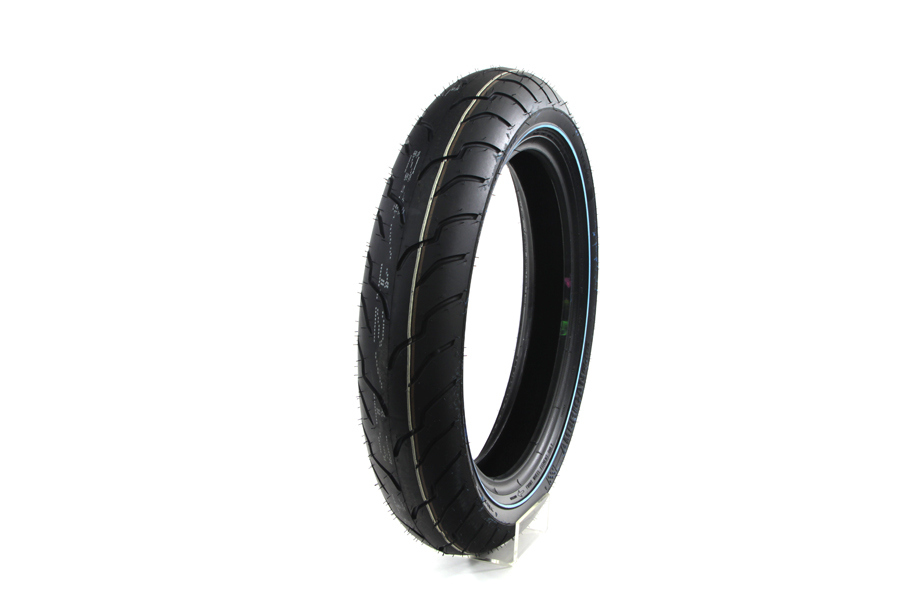"Dunlop American Elite 130/80B 17"" Narrow Whitewall"