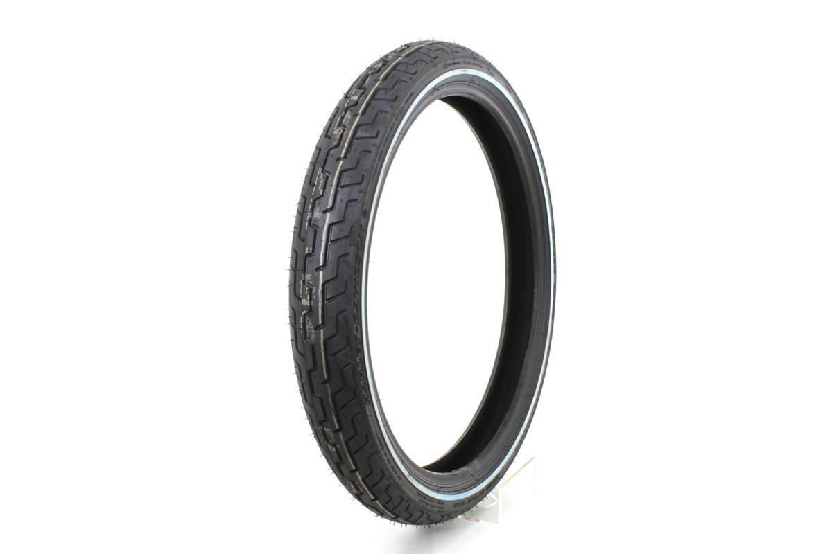 "Dunlop D402 American Elite MH90 21"" front Whitewall Tire"