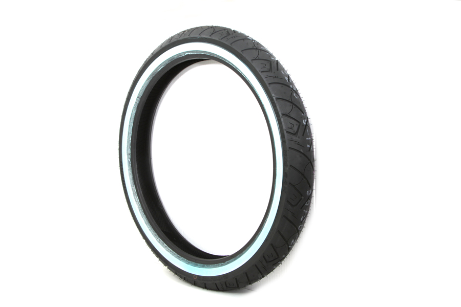 "Shinko SR777 90/90H x 21"" Whitewall Front Tire"