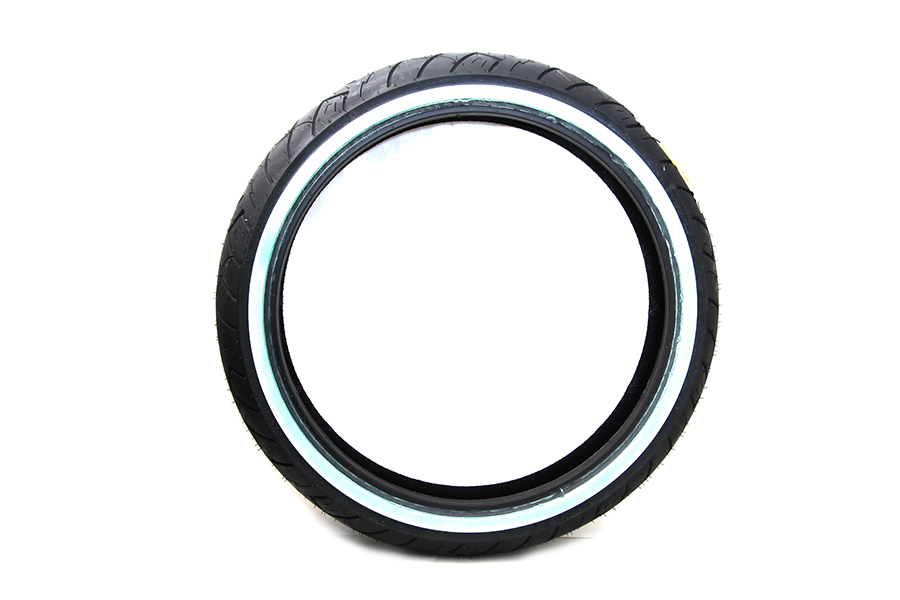 "Shinko SR777 120/70V x 21"" Front Whitewall Tire"