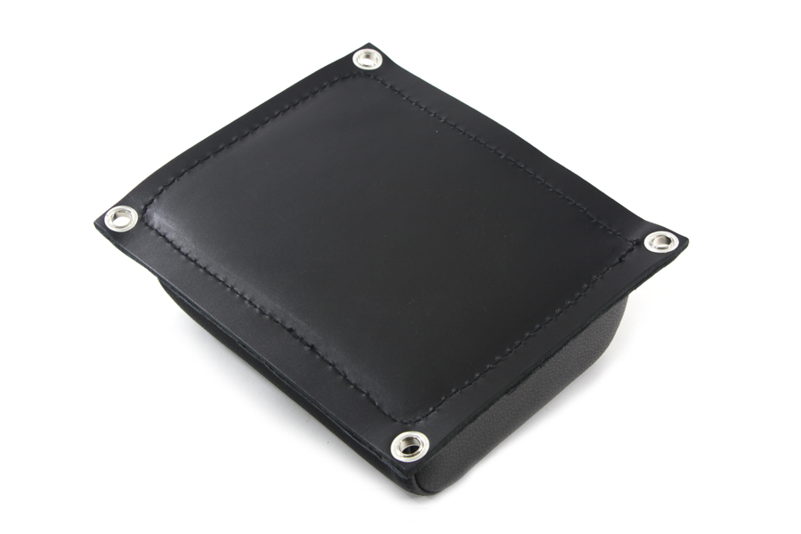 K Replica Leather Rear Seat Pad for Harley & Customs