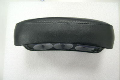 Rear Seat Pillion Pad Black Lick & Stick Style