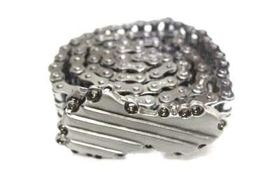 "36"" Chain Belt with Panhead Timing Cover Buckle"