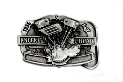 "61"" Knucklehead Engine Belt Buckle"