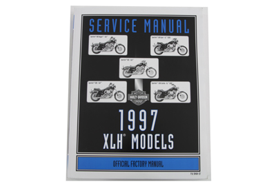 Factory Service Manual for 1997-Up XL