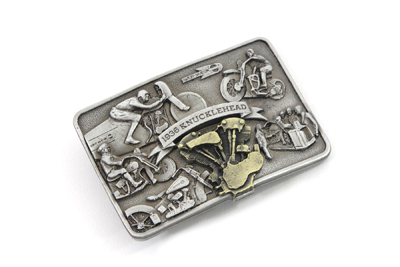 Knucklehead Engine Belt Buckle