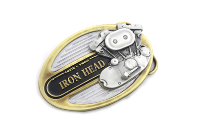 Ironhead Belt Buckle