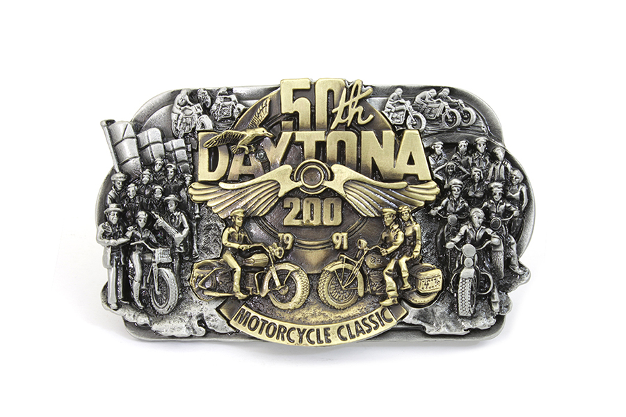 50th Daytona Belt Buckle