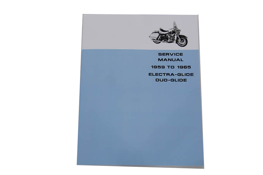 Factory Service Manual for 1959-1965 Panhead
