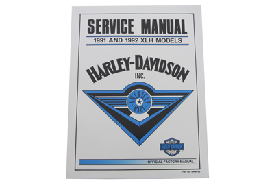 Factory Service Manual for 1991-1992 XLH