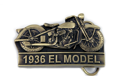 1936 EL Model Knucklehead Belt Buckle