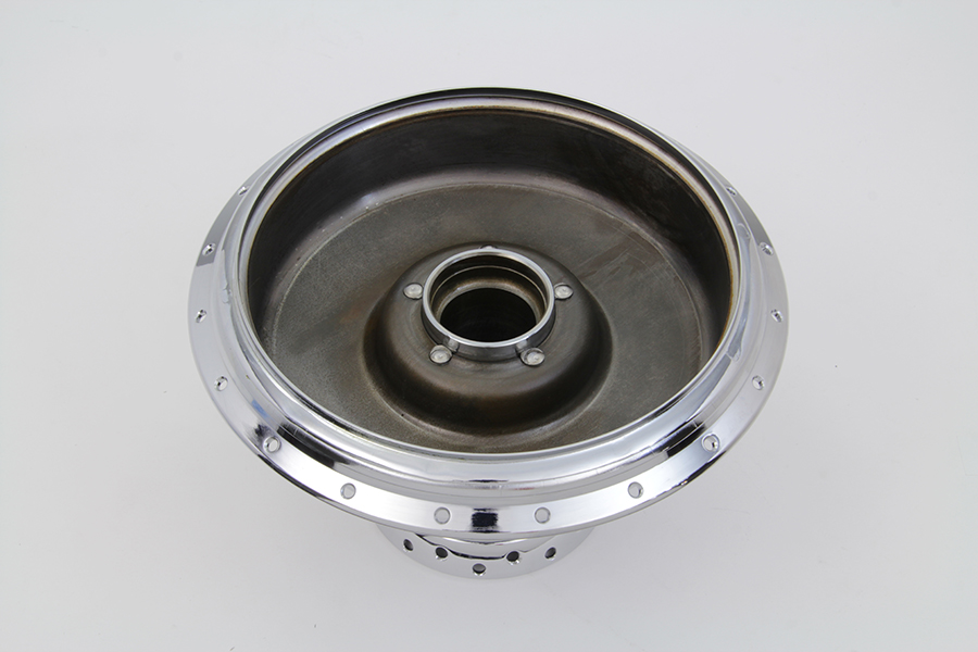 WL 1941-1952 Front Wheel Hub and Brake Drum Chrome