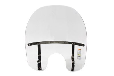 Clear 2-Up Detachable Windshield for 49MM NARROW GLIDE FORKS