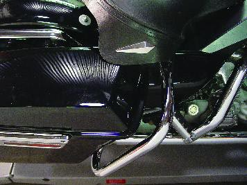 Chrome FLT 1997-UP Rear Buffalo Engine Bar Set