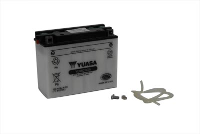 Yuasa CX Battery 12 Volts for FLT 1980-1996 Harley Touring